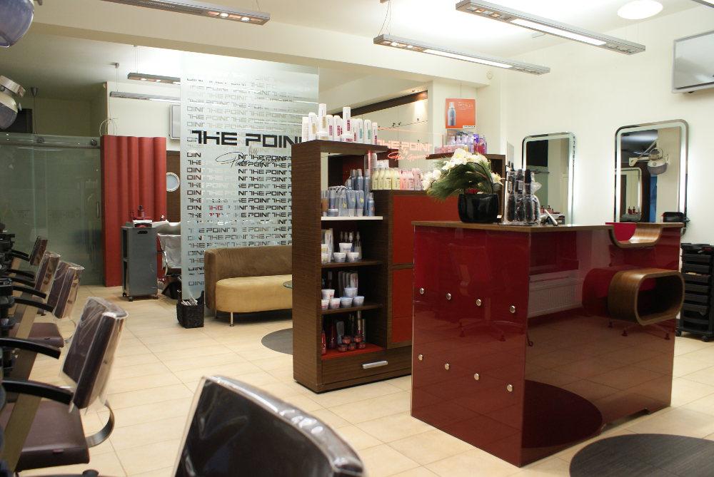 Recepcja w salonie fryzjerskim