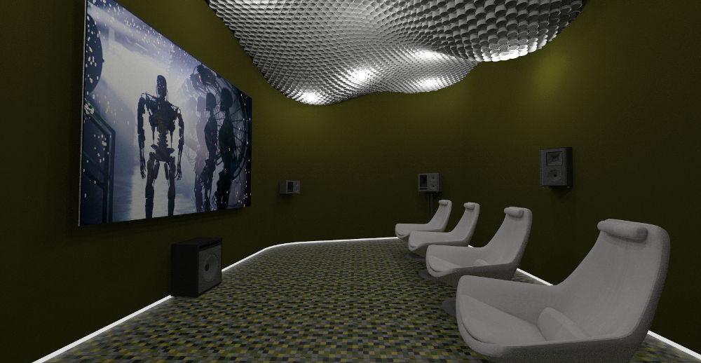 Poczekalnia dla gości i klientów biura