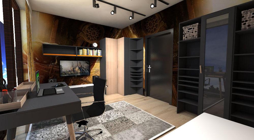projektowanie wnętrz domów i mieszkań