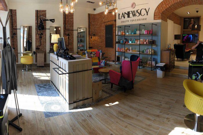 Realizacja salonu fryzjerskiego Łaniewscy w Lublinie