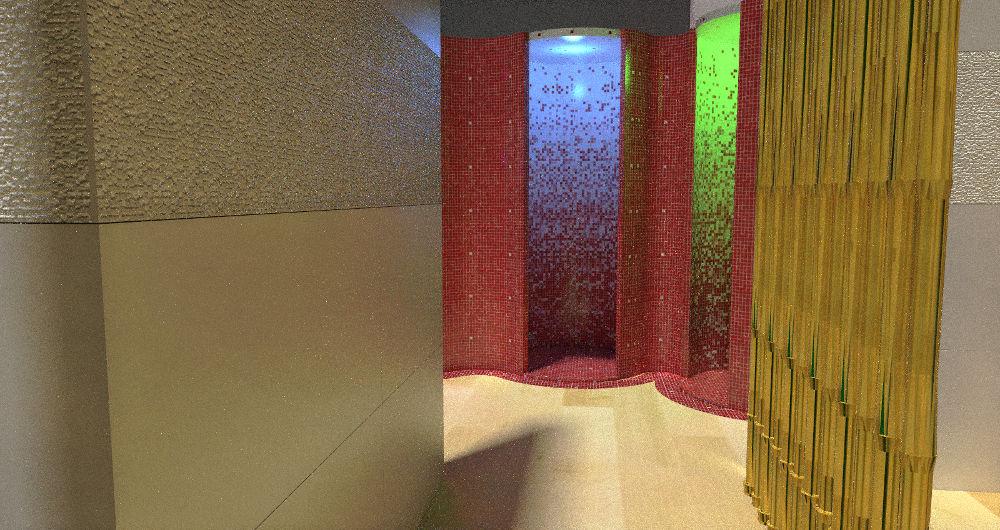Projekt sauny w Gaca System