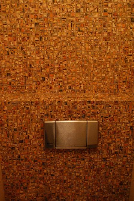 Unikalna mozaika na ścianach